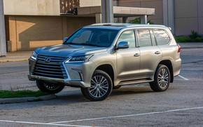 Picture jeep, SUV luxury, 2019 Lexus LX570