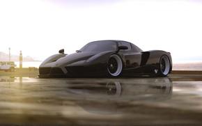 Picture Machine, Ferrari, Art, Ferrari Enzo, Enzo, Supercar, Rendering, Concept Art, Transport & Vehicles, by DRAFT …