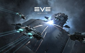 Picture nebula, Space, space, battle, spaceship, eve online, battle, space ship, coooper