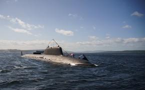 Picture submarine, atomic, RAID