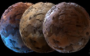 Picture design, texture, planet, sphere, relief
