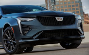 Picture Cadillac, sedan, the front part, four-door, 2020, CT4-V