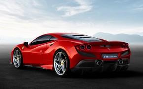 Picture machine, the sky, optics, Ferrari, sports car, F8 Tributo