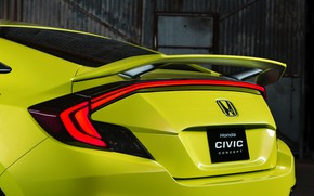 Picture coupe, wing, Honda, 2015, Civic Concept