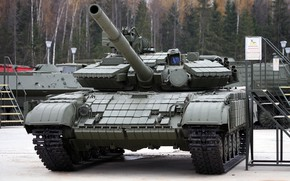 Picture Tank, T-64BV, Tank Troops, (T-64BV mod.1987), sample 1987., The Armed Forces Of The Soviet Union