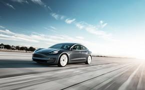 Picture speed, Tesla, 2018, Model 3
