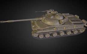 Picture Russia, Object 907, Experienced tank