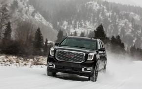 Picture snow, the wind, 2018, GMC, SUV, Denali, Yukon