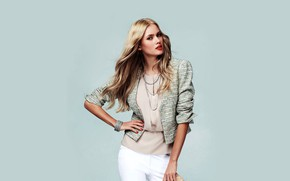 Picture look, girl, decoration, pose, photo, model, hair, beautiful, jacket, Tetyana Piskun