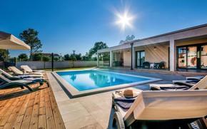 Picture Villa, pool, terrace, Croatia, Villa Dream in Pula