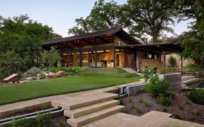 Picture design, house, architecture, modern ranch, by Poet Interiors, Mill Springs ranch, lake Flato