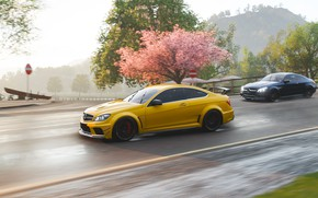 Picture Mercedes-Benz, Microsoft, AMG, Coupe, 2018, C63, Forza Horizon 4