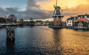 Picture mill, Netherlands, Haarlem