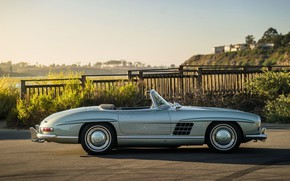 Picture Roadster, 300SL, Classic car, Mersedes-Benz