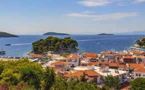 Picture sea, Paradise, Greek, Skiathos, northwest Aegean Sea
