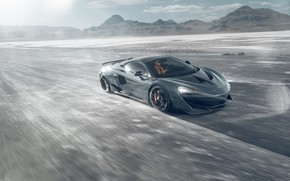Picture lights, McLaren, speed, sports car, drives, Novitec, 600LT