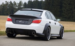 Picture BMW, sedan, rear view, G-Power, 2009, V10, E60, BMW M5, Lumma Design, M5, 730 HP, …