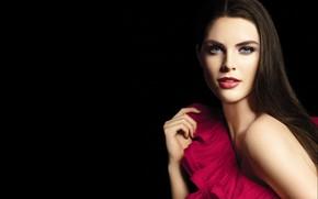 Picture look, pose, model, makeup, Hilary Rhoda, Hilary Rhoda