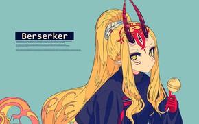 Picture Berserker, Fate/Grand Order, Kogecha, Ibaraki-doujinshi