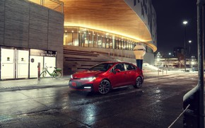 Picture photo, Red, Sedan, Toyota, Car, Corolla, 2020, XSE