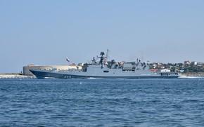 Picture frigate, Sevastopol, Admiral Essen, Author Erne