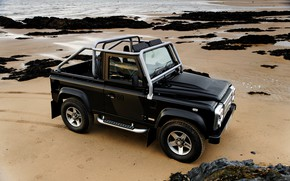 Picture sand, 2008, Land Rover, Defender, SVX, 60th Anniversary Edition