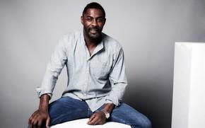 Picture look, pose, watch, tattoo, actor, musician, DJ, Idris Elba, Idris Elba