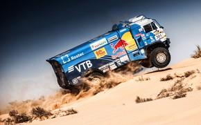 Picture Sand, Auto, Sport, Machine, Truck, Master, Russia, Kamaz, Rally, KAMAZ-master, Rally, KAMAZ, RedBull, Master, Dune, …