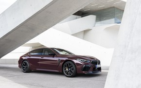 Picture coupe, BMW, ladder, 2019, M8, the four-door, M8 Gran Coupe, M8 Competition Gran Coupe, F93