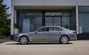 Picture BMW, sedan, side view, four-door, G12, G11, 2020, 7, 7-series, 2019, full-size