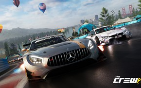 Wallpaper Mercedes-Benz, game, AMG, Ubisoft, The Crew 2