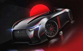 Picture Concept, Auto, Lexus, Machine, Vision, Art, Vehicles, Transport, Transport & Vehicles, by Andrew Zhilyaev, Andrew …