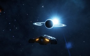 Picture Horizon, Infinite, Elite Dangerous, Asteroid Belt, Cosmos
