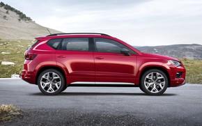 Picture profile, SUV, Seat, 2017, Ateca, Ateca FR
