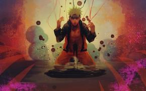 Picture anime, art, guy, Naruto, Naruto, Uzumaki Naruto