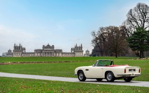 Picture lawn, Aston Martin, convertible, 1970, 2018, Heritage EV Concept, DB6 Mark II Volante