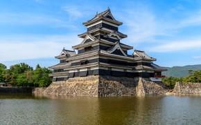 Picture The city, Japan, Castle, Matsumoto, Nagano