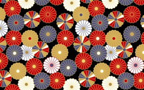 Picture pattern, texture, Japanese style