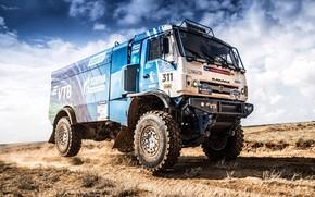 Picture Wheel, Sport, Machine, Speed, Truck, Race, Master, Russia, 2018, Kamaz, Rally, KAMAZ-master, Rally, KAMAZ, The …
