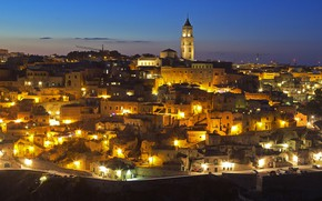 Picture lights, Italy, panorama, Mater