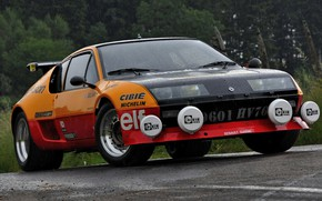Picture Renault, dampness, 1982, A310, V6, Alpine-Renault