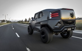 Picture road, SUV, 2017, Rezvani, Tank V6