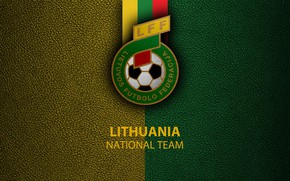 Picture wallpaper, sport, logo, football, National team, Lithuania