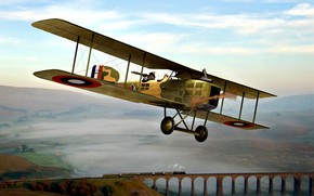Picture France, Bomber, biplane, WWI, Double, Breguet 14
