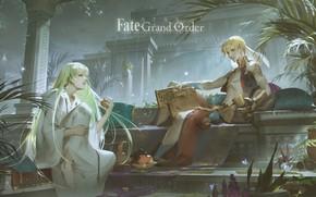 Picture guys, Gilgamesh, Fate / Grand Order, The destiny of a great campaign