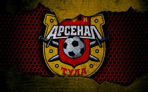 Picture wallpaper, sport, logo, football, Arsenal Tula
