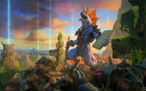 Picture DLC, Supplement, Sacrifice, The victim, Helder ALMEIDA, Total War: Warhammer II, The Prophet & The …