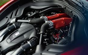 Picture engine, Ferrari, supercar, Roma, 2020