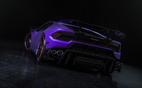 Picture Auto, Lamborghini, Machine, Car, Render, Design, Supercar, Supercar, Sports car, Sportcar, Rear view, Huracan, Sebastian …