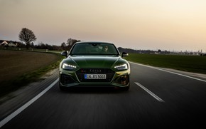 Picture Audi, front, on the road, RS 5, 2020, RS5 Sportback
